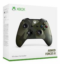 Microsoft - Xbox Wireless Controller - Armed Forces II Special Edition (Xbox One/Win 10 PC)