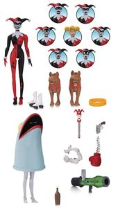 Batman: Animated Series - Harley Quinn Expressions Action Figure (Figure) - Cover