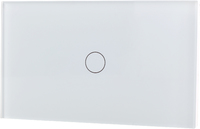 LifeSmart - Smart Light Switch 1 lane - Socket 118/120 - White (Requires LifeSmart – Station to operate – Sold Separately) - Cover