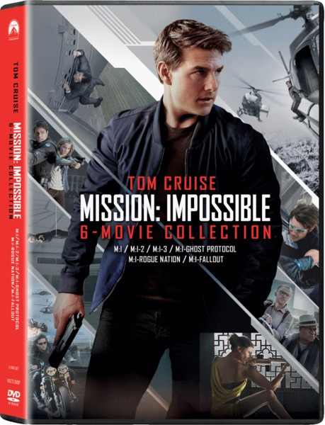 Mission Impossible 1 6 Boxset Dvd