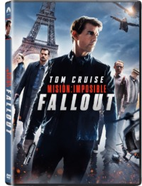 Mission Impossible 6: Fallout (DVD) - Cover