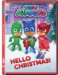 PJ Masks: Hello Christmas (DVD) - Cover