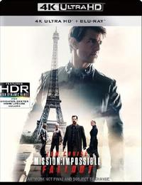 Mission Impossible 6: Fallout (4K UHD + Blu-ray) - Cover