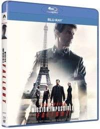 Mission Impossible 6: Fallout (Blu-ray) - Cover