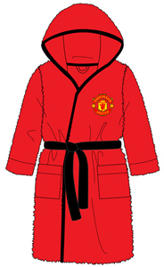 Manchester United - Kids Bath Robe (11-12 Years) - Cover