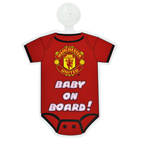Manchester United - Kit Baby On Board Sign - Cover