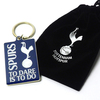 Tottenham Hotspur - To Dare Is to Do Keyring In Velvet Gift Bag
