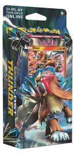 Pokémon TCG - Sun & Moon: Lost Thunder Theme Deck - Entei (Trading Card Game) - Cover