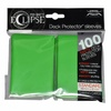 Ultra Pro - Pro-Matte Eclipse Standard Sleeves - Lime Green (100 Sleeves)