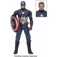 Captain America: Civil War - Captain America 1/4th Scale Action Figure (Figure)