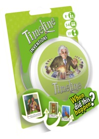Timeline - Inventions (Card Game) - Cover