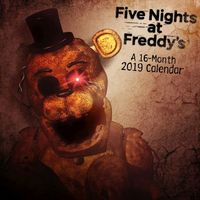 Five Nights at Freddy's 2019 Calendar - Trends International (Calendar) - Cover