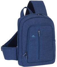 Rivacase 7529 Alpendorf Series 13.3 Inch Notebook Sling Backpack (Navy)