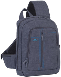 Rivacase 7529 Alpendorf Series 13.3 Icnh Notebook Sling Backpack (Grey)