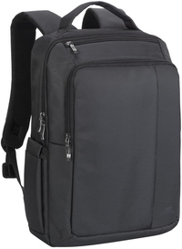 Rivacase 8262 Central Series 15.6 Inch Notebook Backpack (Black)