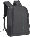 Rivacase 7490 Green Mantis Series DSLR Camera Backpack (Black)