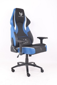 RogueWare XL-1315 Series Black/Blue Rally Gaming Chair