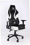 RogueWare XL-1315 Series Black/White Rally Gaming Chair