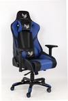 RogueWare XL-6615 Series Black/Blue Formula Gaming Chair