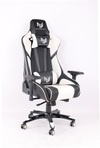 RogueWare Formula Series Black/White Gaming Chair