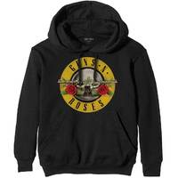 Guns n' Roses Classic Logo Men's Black Hoodie (X-Large) - Cover