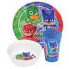 PJ Masks - Characters Dinner Set (3pc)