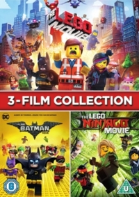 LEGO 3-film Collection (DVD) - Cover