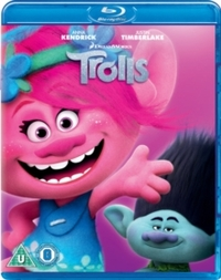 Trolls (Blu-ray) - Cover