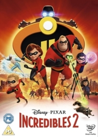 Incredibles 2 (DVD) - Cover