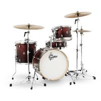 Gretsch Catalina Club Series 4pc Jazz Shell Pack Acoustic Drum Kit- Satin Antique Fade (14 12 14 18 Inc)