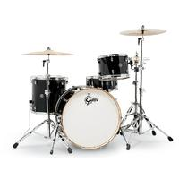 Gretsch Catalina Club Series 4pc Shell Pack Acoustic Drum Kit - Piano Black (14 13 16 24 Inch)