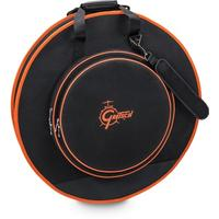 Gretsch 24 Inch Deluxe Cymbal Bag (Black and Orange)