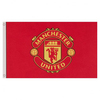 Manchester United - Core Crest Flag