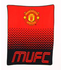 Manchester United - Fade Fleece Blanket - Cover
