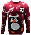 West Ham United F.C. - Novelty Christmas Jumper - Official (XX-Large)