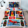 Incredibles 2 - Retro Reversible Duvet (Single)