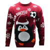 West Ham United F.C. - Novelty Christmas Jumper - Official (Small)