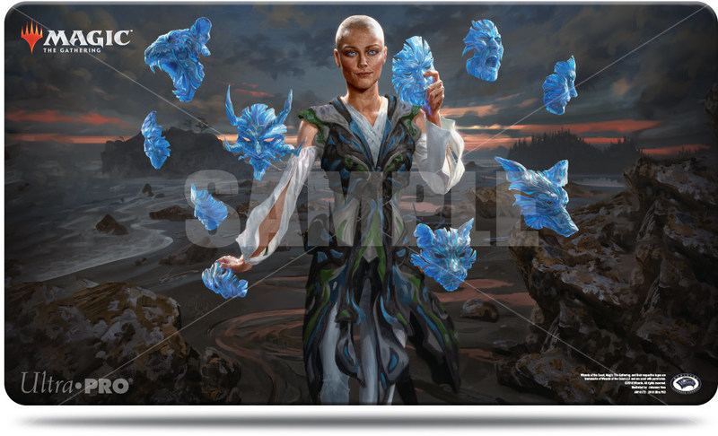 Ultra Pro - Play Mat for Magic The Gathering - Commander 2018 Estrid, the  Masked