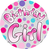 Expression Factory - Birthday Girl Badge (Medium)