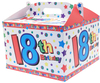 Kaleidoscope - 18th Birthday Carry Handle Balloon Box Cover