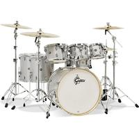 GretschCatalina Maple Series 7pc Shell Pack Acoustic Drum Kit - Silver Sparkle (14 8 10 12 14 16 22 Inch)
