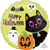 Anagram - 18 inch Circle Foil Balloon - Halloween Critters