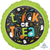 Anagram - 18 inch Circle Foil Balloon - Halloween Trick or Treat