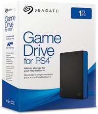 Seagate Game Drive PS4 - 1TB External Hard Drive - Cover