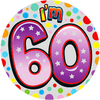 Expression Factory - 60th Birthday - Unisex - Badge (Medium)