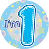 Expression Factory - My 1st Birthday - Boy - Badge (Giant)