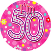 Expression Factory - Age 50 - Female - Badge (Giant)