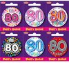 Expression Factory - Age 80 Badges (Small)