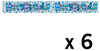 Expression Factory - Holographic Foil Banner - Birthday Boy Juvenile (Pack of 6)