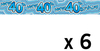 Expression Factory - Holographic Foil Banner - Age 40 - Male (Pack of 6)